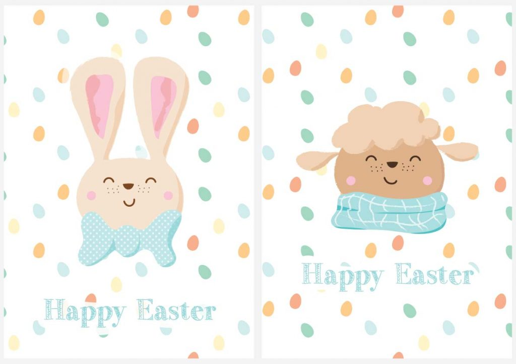mister lapin easter cards